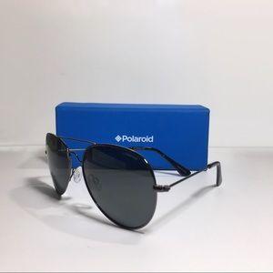 *New* NIB Polaroid Polarized Aviators Sunglasses
